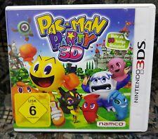 Nintendo 3DS NDS Lite Spiel Pac-Man Party 3D + Anleitung guter Zustand + OVP