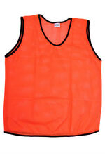12 Scrimmage Vests Soccer Basketball Team Training Adult Pinnies Jerseys SALE