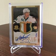 2013-14 Matt Irwin 11/52 Upper Deck The Cup Rookie 4 Color Patch Autograph