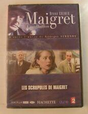 DVD MAIGRET - LES SCRUPULES DE MAIGRET - Bruno CREMER - NEUF