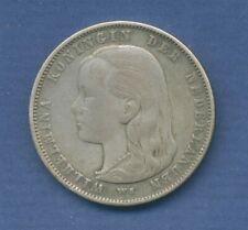 Niederlande Gulden 1892 Königin Wilhelmina I, ss+ feine Patina (m1523)