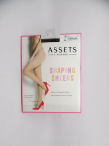 Spanx Assets Shaping Pantyhose Super Tummy Control Sheers - 1181 (Black / 1)