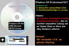 Microsoft Windows XP Pro Professional Komplettpaket DVD CD CoA Lizenz 32Bit