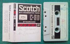 MC Musicassetta SCOTCH C-60 Dynarange vintage compact cassette audiotape USATA
