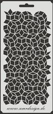 Scrapbook Stencil S-093  Geometri ~ Craft ~ UMR-Design