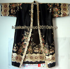 Fashion Brand Bath Robe Chinese Style Lady's Night Robes Sleepwear Kimono Gown