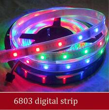 5m 6803 IC 5050 RGB Strip,150LED IP67 tube waterproof dream magic color digital
