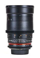 Samyang 135mm T2.2 ED UMC Nikon Fit VDSLR Lens  -  Ex-Demo