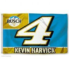 KEVIN HARVICK CAR #4 FLAG 3'X5' NASCAR BANNER: FREE SHIPPING