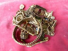 LARGE LOT OF VINTAGE STERLING SILVER JEWELRY WEIGHING 9.41 TROY OZS