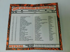CKLW Big 30 Detroit Music Chart Week of September 3 1969 Temptations Funkadelic