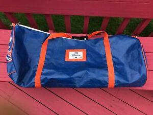Tom Nieto NY Mets Game Used Travel Duffle Catchers Equipment Bag MLB