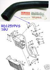 Yamaha RD125YPVS Radiator Hose NOS 1GU-12481-00 RAD Rubber PIPE RD125LC MK2