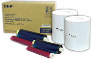 "DNP DS620 Dye Sub Media Kit, 800 4""x 6"" Prints for DS620A Printer, DS620 4X6"