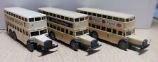 3x Wiking Stadtbus MAN D 38, BVG Berlin 750 Jahre, Persil, Nivea 1/87