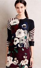 New Rare Anthropologie Small Cashmere Sweater Pullover Samantha Sung