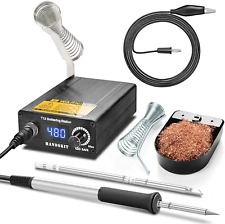 Soldering Iron Station Kit 72w Soldering Station 60 Minute Auto Sleep Standby