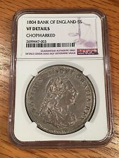 1804 Great Britain Silver Dollar 5 Shilling- NGC details - Quality Scans #7003