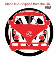 Camper and badge 2 coloured vinyl Decal for your car van ipad laptop toolbox