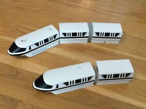 Walt Disney World Train Toys Engines & Cars from Monorail Playset INCOMPLETE