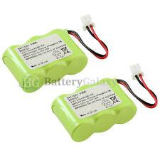 2 New Home Phone Battery 300mAh NiCd for Vtech CS5111-2 CS5121 CS5121-2 CS5121-3