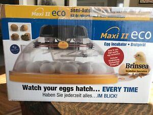 Brinsea egg incubator 14-30 egg semi automatic turner Maxi II ** NEW **