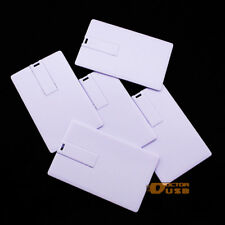 100PCS 8GB Credit Card USB Memory Flash Drive LOGO Service Included in the Price