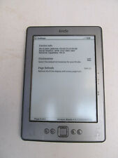 Amazon Kindle (5th Gen.) 2GB, Wi-Fi, 6in-Gris D01100 1K47 Bisel marcas