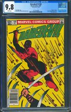 Daredevil 189 (Marvel) CGC 9.8 White Pages Death of Stick, Mark Jewelers insert