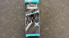 ELITE No Wax Hockey Skate Laces New Black Size 72""