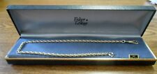 """Watch Chain 13.25"""" Nos Fisher LeStage 14K Gold Filled"""