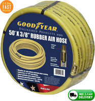 "Goodyear 50' x 3/8"" Rubber Air Hose Yellow 250 Psi 3/8 in. by 50 ft. 250 PSI"