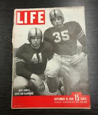 LIFE Magazine, September 16th 1946