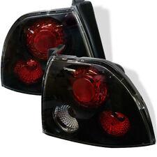 Fit Honda 94-95 Accord Black Euro Style Rear Tail Lights Brake Lamp Set DX EX LX