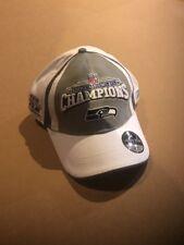 Error Seattle Seahawks Super Bowl XL Champions Ball Cap Hat NFL Reebok