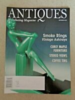 Antiques and Collecting Magazine 2010 Vintage AShtrays Stereo Views Coffee Tins