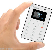 Premium iNew Mini 1 Credit Card Mobile Phone: Bluetooth Sync + Remote Camera