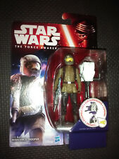 """Star Wars The Force Awakens Resistance Trooper Collectable Figure 3.75"""""""