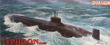 Dragon DML Hasegawa 1:350 Soviet Typhoon Class SSBN Nuclear Submarine Kit #1001U