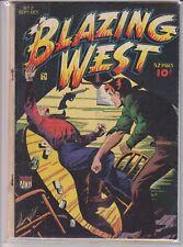 BLAZING WEST # 7