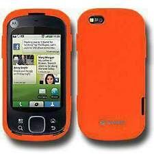 AMZER Silicone Skin Jelly Case for Motorola CLIQ XT MB501 - Orange
