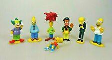The Simpsons 7  Figuren Set Sammelfiguren Homer Bart Krusty Grandpa Mr. Burnes..