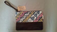 "NWT Billabong ""SAMPLE"" Tribal Ethnic Wristlet Clutch Purse Handbag~Sweet Sunsetz"