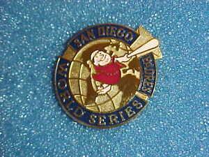 1998 San Diego Padres World Series Media Press Pin - New York Yankees (35th) NYY