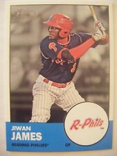 JIWAN JAMES RC PHILLIES 2012 Topps Heritage Minors baseball card #145 QTY Tigers