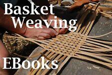 Basket Weaving Making Basketry 30 Books Indian Designs Raffia Baskets Hand Made