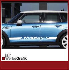 Aufkleber/ Sticker/ Seitenstreifen / Dekor/ Mini Cooper 4 Türen / #089