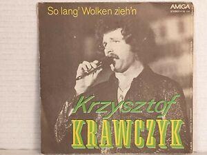 KRZYSZTOF KRAWCZYK So ohne Dich & So lang' Wolken ... / DDR SP 1975 AMIGA 456150