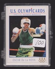 (100) 1992 OLYMPIC OSCAR DE LA HOYA ROOKIE CARDS #23 ~ GIANT LOT ~ BOXING LEGEND