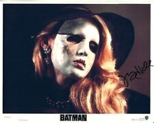 JERRY HALL hand-signed BATMAN 8x10 authentic w/ coa MASK COVERING SCARRED FACE